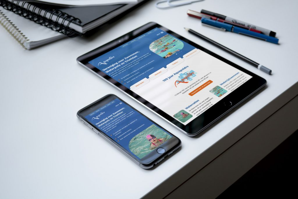 Aquapoldro viert jubileum met nieuwe website